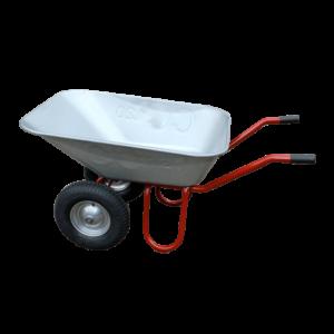 Schubkarre DUO mit 120 Liter Mulde und 2 Lufträdern