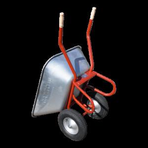 Großmuldenschubkarre DUO 150 Liter 2 Lufträder