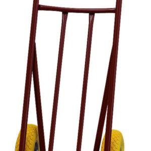 Sackkarre Stahlrohr mit WFLEX Rädern